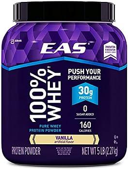 EAS 100% Whey Protein Powder 5-lb. Tub