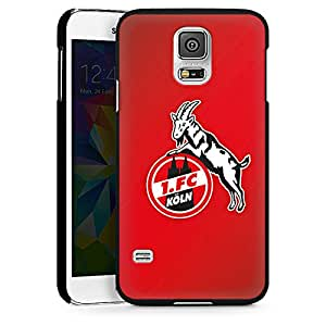Samsung Galaxy S5 Hard Case Hülle schwarz - 1. FC Köln rot