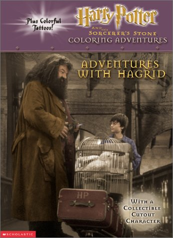 Harry Potter Adventures With Hagrid (Coloring Book With Tattoos)