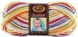 Lion Brand Yarn 881-206 Jamie Yarn, Mardi Gras
