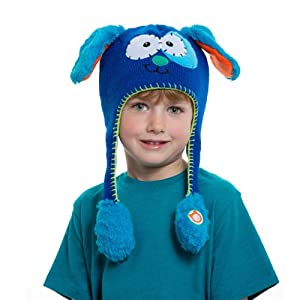 Flipeez Peek-a-Boo Puppy Action Hat