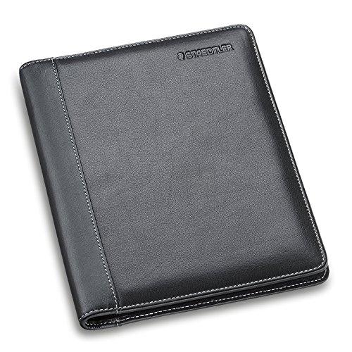 Staedtler Premium Leder-Schreibmappe A5, schwarz