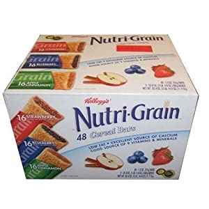 Nutri-Grain-Kellogg's Cereal Bars Variety Pack, 48-Count