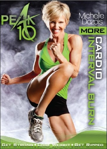 Peak 10 More Cardio Interval Burn DVD - Michelle Dozois - Region 0 DVD