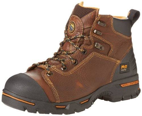 "Timberland PRO Men's Endurance PRO Waterproof 6"" Work Boot,Rancher Brown,7 M"