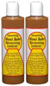 2 pk Amazing Maui Babe Browning Lotion 8 oz