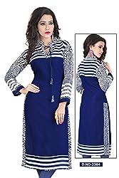 Vipani Fashions Designer Stitched Kurtis(Size : XL)