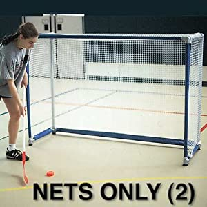 Hockey Goal Replacement Net (Pair) by Goal Sporting Goods