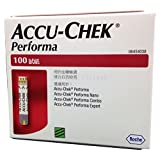 Accu-Chek Performa 100 Test Stips For Performa Glucometer(Red)