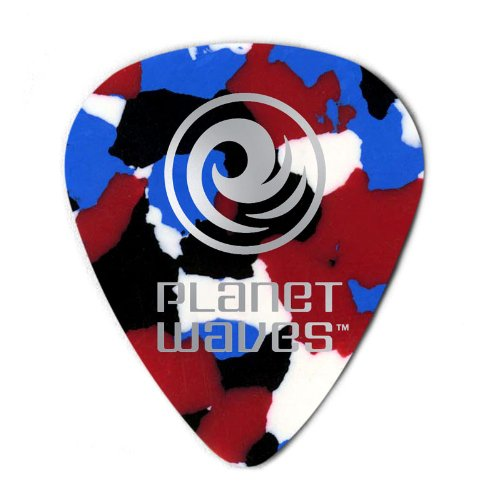 Planet Waves Celluloid Guitar Picks planet waves pw ct 17gn
