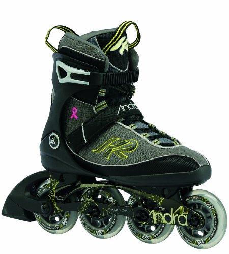 Andra Alu Women'K2 Damen Inline-Skates, Grau