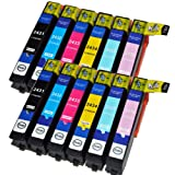 Compatible Epson XP-850 Ink Cartridges High Capacity 24XL (12-Pack)