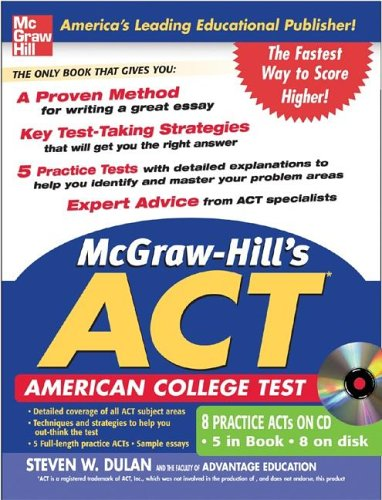 McGraw-Hill's ACT WITH CD-ROM (McGraw-Hill's ACT (W/CD))