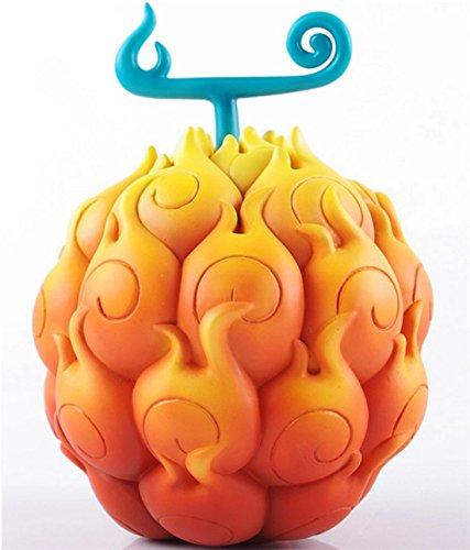【ノーブランド品】コスプレ 悪魔の実 エース/ルフィ 飾り物 趣味 ゴムゴムの実 メラメラの実 コスチューム コスプレ小物/道具 cosplay (オレンジ)