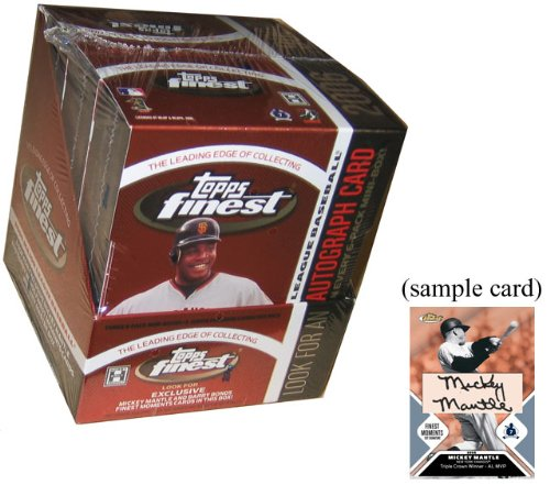 2006 Topps Finest Baseball HOBBY Box – 3Mb6P5C