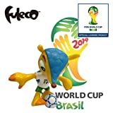 2014 Brazil Football World Cup 3-D Collectible figurine 7cm Fuleco Pose 3 WC827