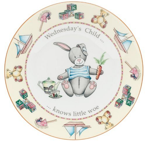Buy Royal Worcester Days of the Week Earthenware 8-Inch Plate, Wednesday