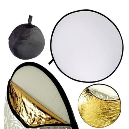NEEWER 60CM 22-Inch 5 in 1 Light Multi Photo Collapsible Reflector