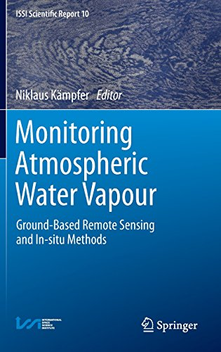 Monitoring Atmospheric Water Vapour: Ground-Based Remote Sensing and In-situ Methods (ISSI Scientific Report Series)