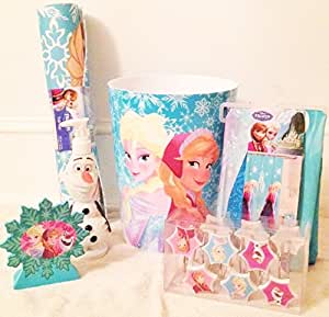 disney frozen 6 bathroom accessory set