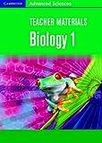 Teacher Materials Biology 1 CD-ROM (Cambridge Advanced Sciences)