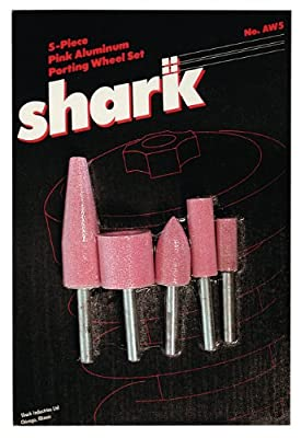 Shark Shark AW5 5-Pc Mounted Point Stone Set, Pink