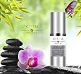 Kleem Organic VITAMIN C & E SERUM for Face with 10% Hyaluronic Acid. PROFESSIONAL Anti Aging Serum, Anti Wrinkle Treatment, Skin Tightening and Dark Spot Removal. Doctor Trusted