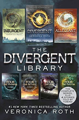 "Download ""The Divergent Library: Divergent; Insurgent ...Veronica Roth Books List"