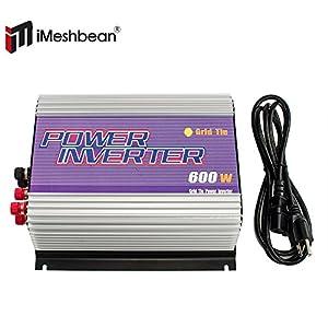 iMeshbean® 600 Watt Wind Grid Tie MPPT Power Inverter for Wind Turbine System 22 - 60V AC Pure Sine Wave