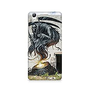 Mobicture Skull Abstract Premium Printed Case For Vivo Y51L