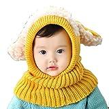 NEWSTORY この冬たくさん着せたい かわいい 赤ちゃん 用 ニット帽 (05. イエロー)