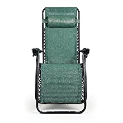 Funny product Camco 51811 Zero Gravity Recliner (Green Swirl Pattern)