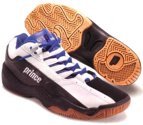 Prince NFS Indoor III 1.0 (Black/White/Blue) (Prince,Sports & Outdoors Shoes,Shoes ,Men Shoes,Racquetball & Squash   Shoes)