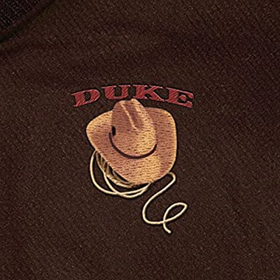 Duke John Wayne Men's Twill Varsity-Style Jacket: Medium by The Bradford Exchange