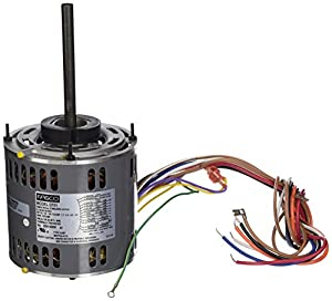 Fasco d701 5 6 inch direct drive blower motor 1 2 hp 115 for 2 hp motor current