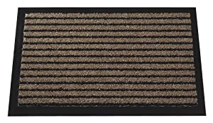Mercury Flooring - Tapis Grattant 40X60 - Couleur : Marron
