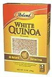 Roland Pre-Washed White Quinoa, 12-Ounce Box