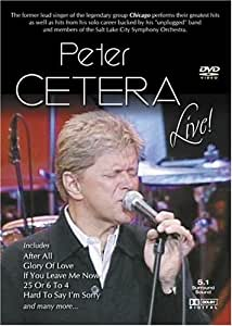 Peter Cetera Live [USA] [DVD]