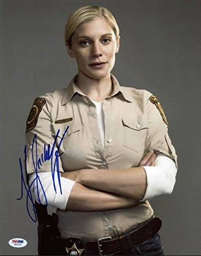 Longmire autographed photo