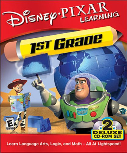 Disney Pixar Learning 1st Grade Toy Story 2 CD ROM Set