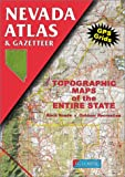 Nevada Atlas & Gazetteer (0899332285) by Delorme