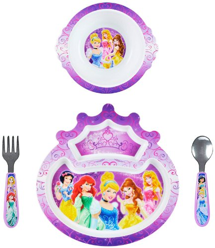 Disney Princesse 4 Piece Feeding Set