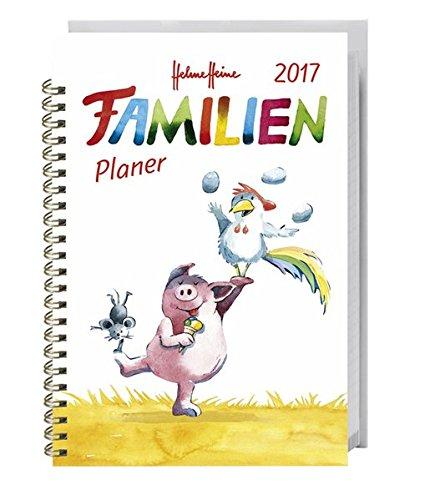 Helme Heine Familienplaner Buch A6 - Kalender 2017, Buch