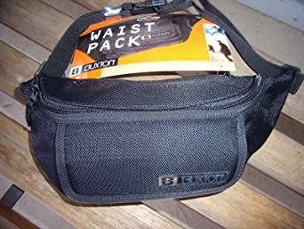 Buxton Waist Pack TN15-797 Fanny Pack Black