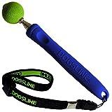 Dogsline Target Stick mit elastischer Handschlaufe für Erziehung Ausbildung und Training , Edelstahl 17-73cm blau , DL14TSA