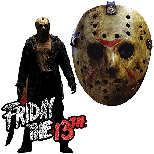 [(Set of 2) Friday The 13th Magnets - Jason Vorhees & Infamous Hockey Mask] (Jason Vorhees Masks)