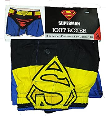 DC Comics Superman Man of Steel Costume Boxer Shorts