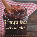 Confitures artisanales : 60 recettes de délicieuses confitures maison