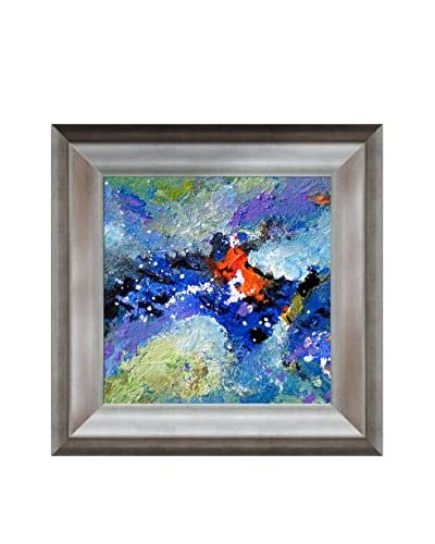 Sanjay Punekar Harmony VI Framed Canvas Print