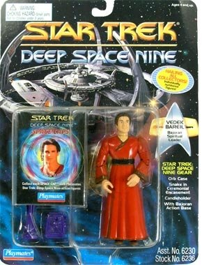 Star Trek: Deep Space Nine 4.5 Bajoran Spiritual Leader Vedek Bareil Action Figure